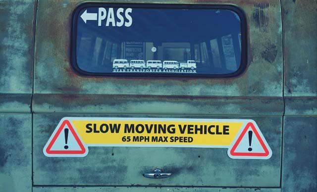 65 mph max speed