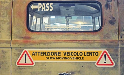 Italian magnetic sign