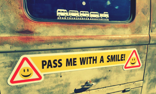 Pass Me With a Smile