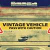 Vintage Vehicle Magnets