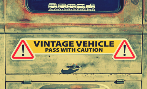 Vintage Vehicle Magnets